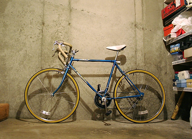 Raleigh Racer profile
